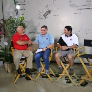 Ben doing FAN interview with Brian & Frank-2