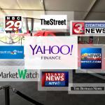Switchblade with news logos