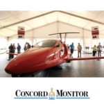 Concord Monitor switchblade in pavilion